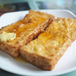 ขนมปังหนานุ่มสีเหลืองทองแสนอร่อย
