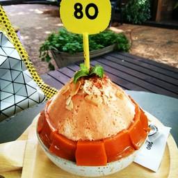 บิงซูชาไทย 239 บาท  ราคาแพงถ้าเทียบกับรสชาด ไม่ค่อยเข้มข้นเท่าไหร่