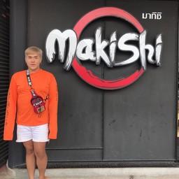 หน้าร้าน Makishi บุฟเฟ่ต์สายพาน
