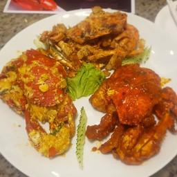 Three King Crab