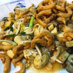 ผัดไทยหอยนางรม