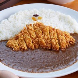 Deep Fried Pork Loin with Curry Rice