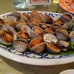 หอยแครงลวก