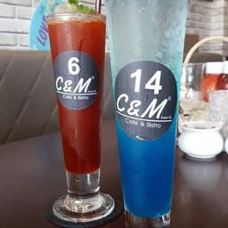 เมนูของร้าน C&M Cafe and Bistro