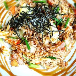 จานโปรด ข้าวผัดไทยสไตล์ญี่ปุ่น อร่อยมากค่ะ