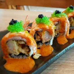 Salmon Aburi Rolls