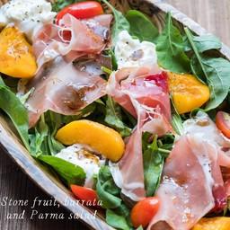 Stone Fruit , Burrata & Parma Salad