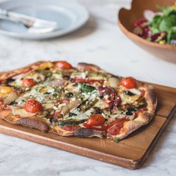 Grilled Vegetables Pizza