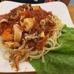 Shrimp & Squid Noodle Soup