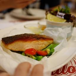 สเต็ก Salmon