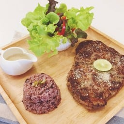 black pepper pork loin steaks...so soft so juicy