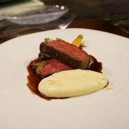 Australian Wagyu Rib Eye Steak With Creamy Mashed Potato