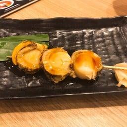หอยเชลล์ฮอกไกโด ย่างโทบัง