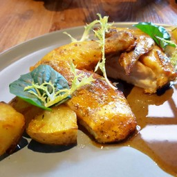 Rosemary Spiced Baby Chicken With Roasted Potato