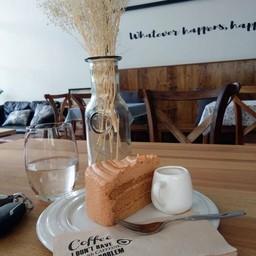 เค้กชีฟอนชาไทย+ซอสชาไทย