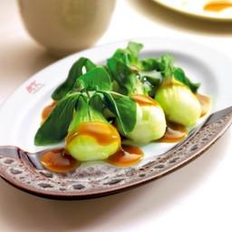 ผักกวางตุ้งน้ำมันหอย (จานเล็ก)