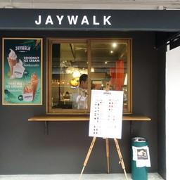 หน้าร้าน Jaywalk Cafe  เยาวราช
