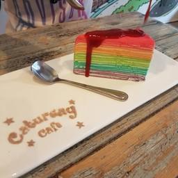 เครปเค้กเรนโบว์