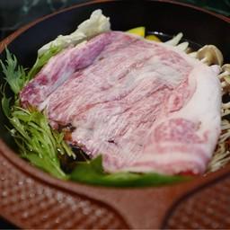 สุกี้ยากี้เนื้อวากิวญี่ปุ่น A4