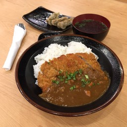 Curry Rice with Tonkotsu