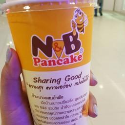 เมนูของร้าน N&B Pancake ซีคอน บางแค