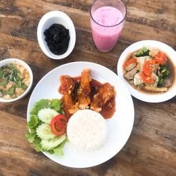 Lunch Set 199฿ คุ้มมากกกก