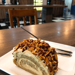 Caramel Almond Coffee Cake