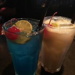 Blue Hawaii And Pina Colada