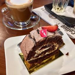 Molten Log Cake