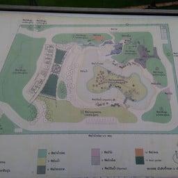 แผนผังภายบริเวณป่าในกรุง