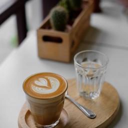 Piccolo Latte with Latte Art