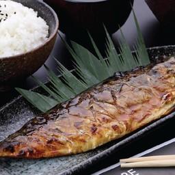 ชุดสเต็กปลาซาบะย่างซีอิ๊ว