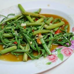 เมนูของร้าน ข้าวต้มปลา&อาหารตามสั่ง นายฮุย