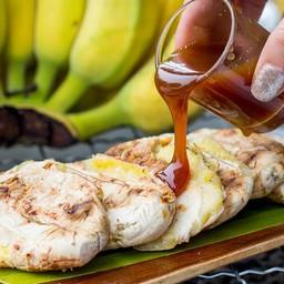กล้วยปิ้งวัดกลาง (บ้านฝาแฝด)