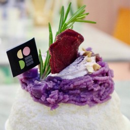 Bingsu Purple Sweet Potato