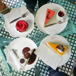 แนะนำ #สวยสังหาร เค้กสอดไส้หลายชั้น อร่อย ไม่หวานมาก