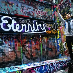 Hosier Lane Graffiti Street