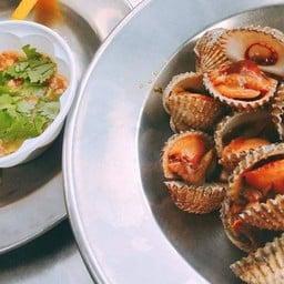 หอยแครงลวก 80฿