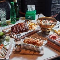 เมนูของร้าน Checkmate Bar & Bistro Asiatique