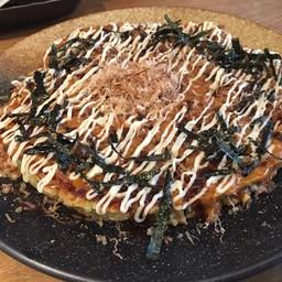 พิซซ่าญี่ปุ่น ซีฟู๊ด (Okonomiyaki)