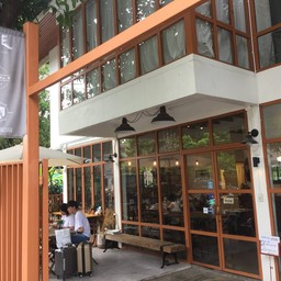 หน้าร้าน Blue Dye Cafe Sukhumvit 36