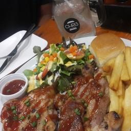 เมนูของร้าน Chris Steaks & Burgers