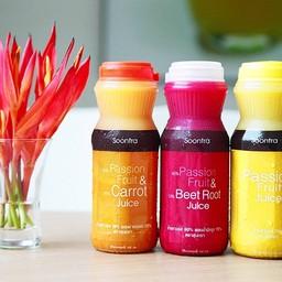 Soontra Fruit and Herbal Drinks BTS เอกมัย