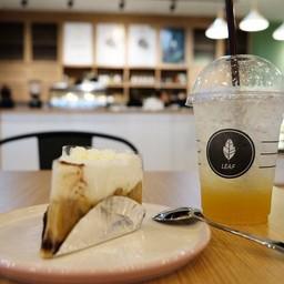 ลีฟคาเฟ่ Leaf Cafe อิมพีเรียลเวิลด์ สำโรง
