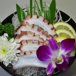 ปลาหมึกซาชิมิ
