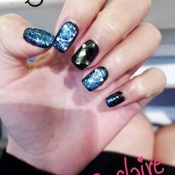 เล็บฉ๋วยยยยย #Galaxy #Claire By SLC