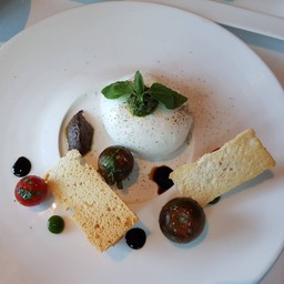 Italian Burratta cheese