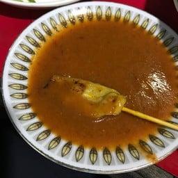 ป้าแม๊ะขนมจีน หมูสะเต๊ะ ตลาดเพียร