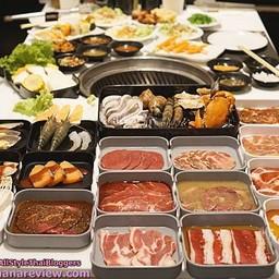 Kaiten Buffet Yakiniku Sushi Siam Sqaure One สยามสแควร์วัน