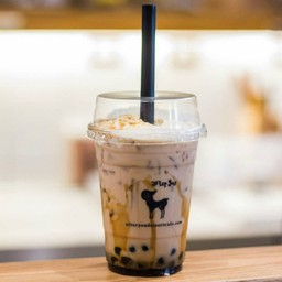 Boba Caramel Cream Tea